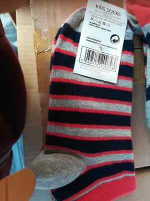 6 pars New Kids Trainer Socks 2 Pairs Per Pack Various Sizes by Essential Style