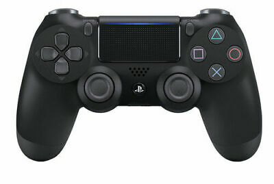 Sony Original PS4 Wireless Dualshock 4 Controller Modell V2 NEU OVP Jet Black ,