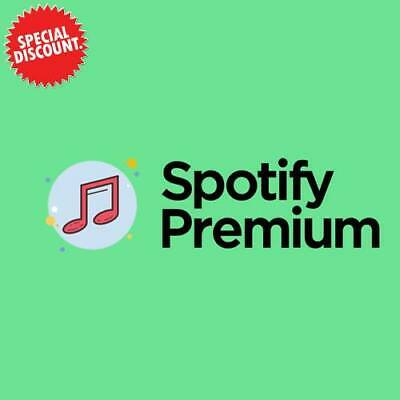 Spotify Premium 12 Months  -  Old Existing Or New Account  -  Warranty