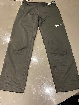 Nike Pro Girls Cropped Leggings XL Girls 156-168 13-15