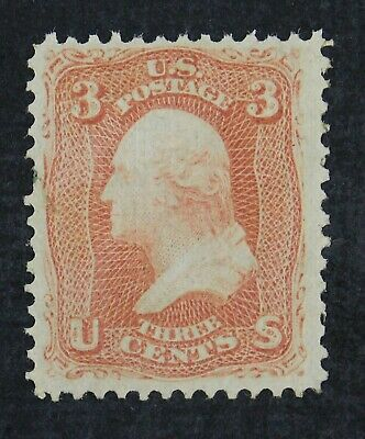 CKStamps: US Stamps Collection Scott#94 3c Washington Unused NG Tiny Stain