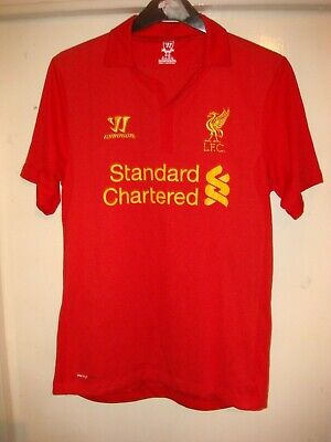 LIVERPOOL FC HOME Football Shirt - WARRIOR - 2012/13 - MEDIUM ADULT - LFC - X8