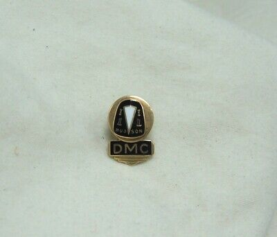 Vintage Hudson Automobiles Years of Service 10 K Gold Pin