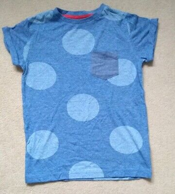 Boys Next blue T shirt top age 5 years
