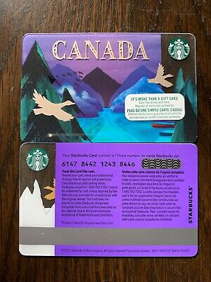STARBUCKS '2016 CANADA GEESE - #6147 - Gift Card - New - No Value