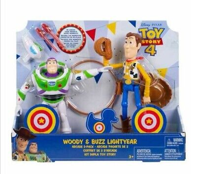 Toy Story 4 Woody and Buzz Lightyear Arcade 2 Pack Disney Pixar