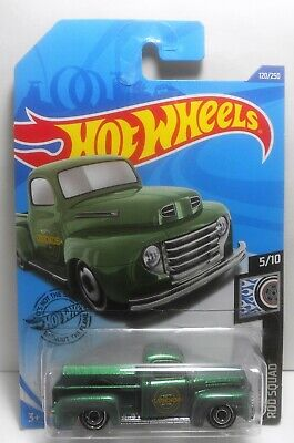 Hot Wheels 2020 '49 Ford F1  Pick-Up E Case Rod Squad 120/250 Mint On Card
