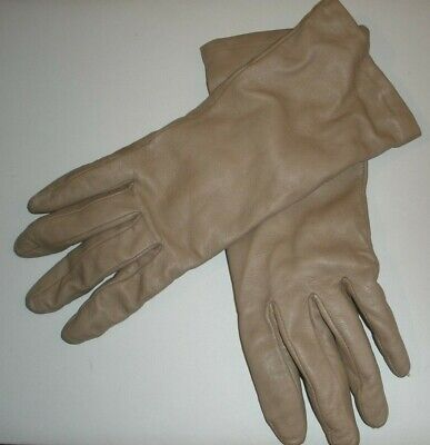 Fownes Ladies Genuine leather Gloves,Cashmere lined, EUC ,size 7 1/2
