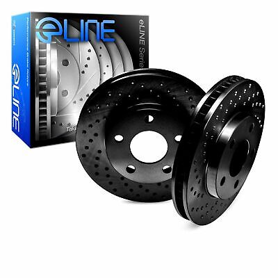 2619 2 FRONT + 2 REAR 4 Platinum Hart *DRILLED /& SLOTTED* Disc Brake Rotors