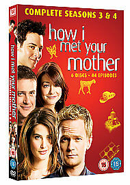 How I Met Your Mother - Series 3-4 - Complete (DVD, 2011)