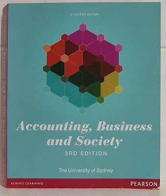 Accounting, Business and Society - 3rd Edition -  The University of Sydney