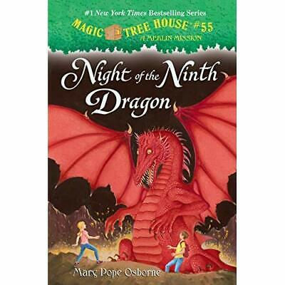 Night of the Ninth Dragon (Stepping Stone Books) - Library Binding NEW Mary Pope