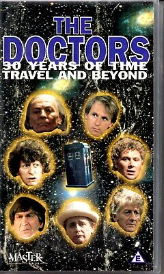THE DOCTORS 30 Years of Time Travel VHS Video Doctor Who Extended Version