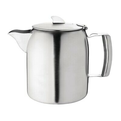 Olympia Airline Tea Pot Stainless Steel 1.6 Litre