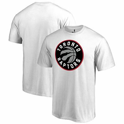 Toronto Raptors Fanatics Branded Primary Logo T-Shirt - White
