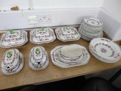 Antique 1900's Copeland Spode 'Nigel' for Waring & Gillow Dinner Set Pieces
