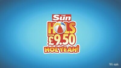INSTANT BOOKING NOW OPEN -The Sun £9.50 Holidays 2020 ALL 7 CODE  WORDS