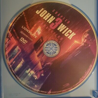 *DISC ONLY* John Wick Chapter 3 Parabellum (Keanu Reeves) on DVD