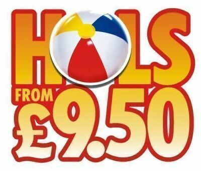 The Sun £9.50 Holidays POSTAL Booking form, + All 7 Tokens & newspaper insert