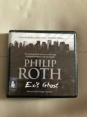 Philip Roth - Exit Ghost - 7 Cd Unabridged Audio Book