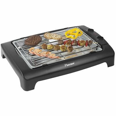 Bestron BBQ Grill barbecue AJA802T 2000 W Barbecue électrique de table