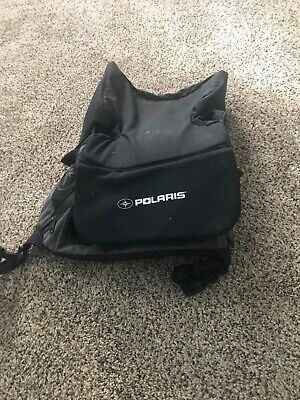 New OEM Polaris Snowmobile Water Resistant Black Rear Rack Bag 2878731