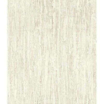Weathered Paint Wallpaper, 20.5 in. x 33 ft. = 56 sq.ft White
