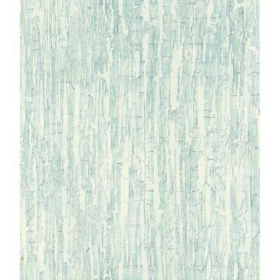 Weathered Paint Wallpaper, 20.5 in. x 33 ft. = 56 sq.ft Sea
