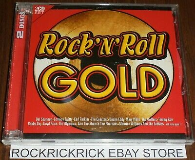 Rock 'N' Roll Gold - Various Artists 2 Cd Set 36 Tracks See Photo For Track List
