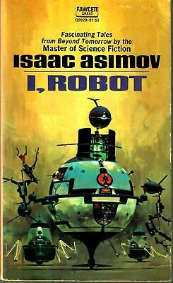 [VINTAGE] I, ROBOT, Isaac Asimov, Fawcett, 1970 Paperback, Very Good