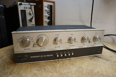 Crown IC-150A Stereo Preamplifier