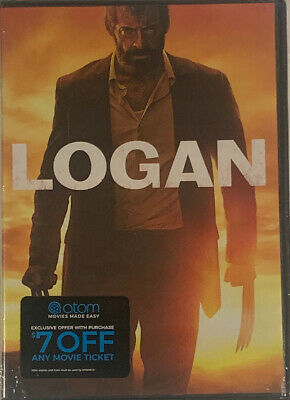 Logan: Action Movie With Hugh Jackman, One Disc DVD Set New