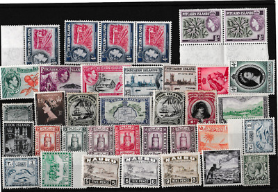 A Very Good Lot Of British Commonwealth Stamps In Mint Or Fine Used 63*3