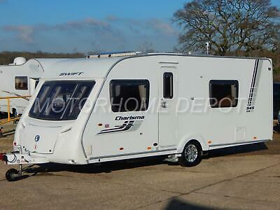 SWIFT CHARISMA 545, 2011, 4 Berth, Double Dinette, *Fixed Bed*, Motor Movers!