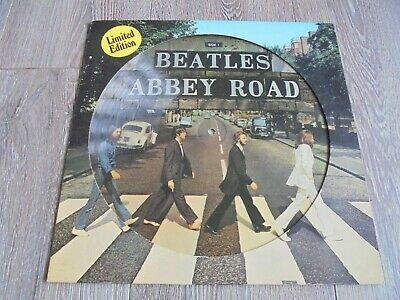 The Beatles - Abbey Road 1979 NETHERLANDS PICTURE DISC LP APPLE