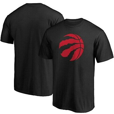 Toronto Raptors Fanatics Branded Primary Team Logo T-Shirt - Black