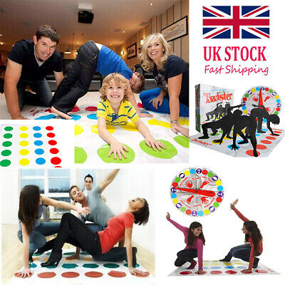 Funny Twister Classic Game Family Kids Children Party Body Games 2 More Moves UK
