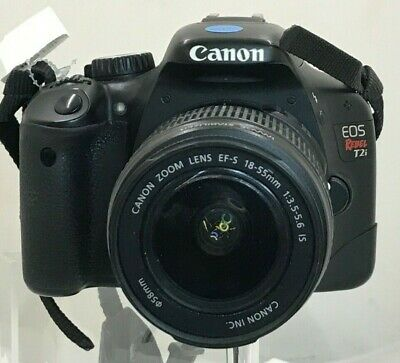 Canon EOS Rebel T2i Digital Camera with a Canon EF-S 18-55mm 1:3.5-5.6 IS Lens