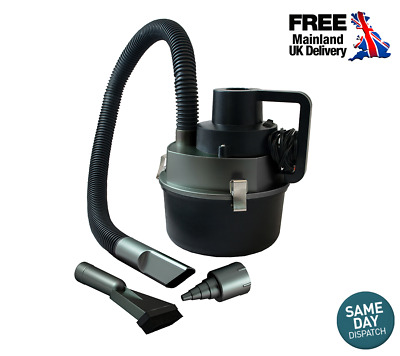 2 in 1 Car Vacuum Cleaner & Inflator 120W Wet and Dry Cleaning 12V Socket