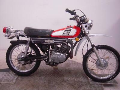 1976 Yamaha DT125 Unregistered US Import Barn Find Classic Restoration Project