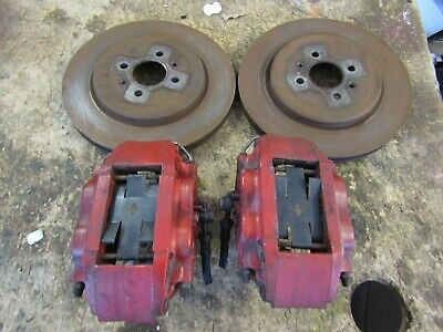 Mgf Mgtf Ap Racing 4 Pot Front Calipers With  Clips Bolts Pins & Discs