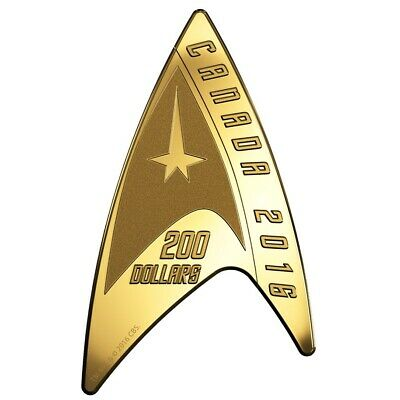 Star Trek: Delta - 2016 Canada $200 Pure Gold Coin