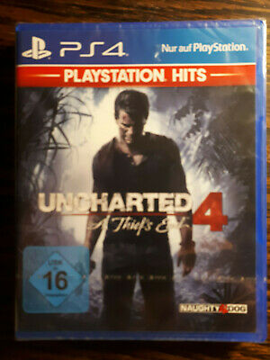 PlayStation Hits: UNCHARTED 4 - A Thiefs End  / USK16 / PlayStation 4 / PS4