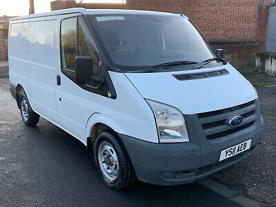 Ford Transit 2011 85 T280S Van Swb White Paneled Out No Reserve 3 Day Sale
