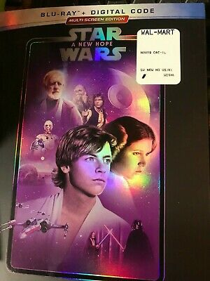 Star Wars: Episode IV - A New Hope (Blu-ray Disc, 2019) + Digital + slipcover