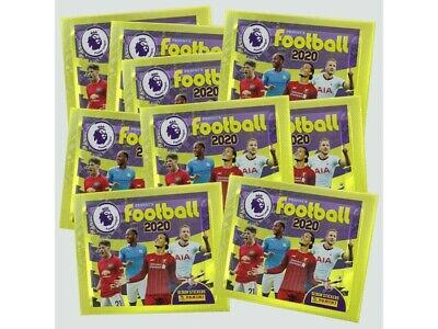Panini  Football Premier League 2020 Packs Stickers X 20 Packets New&Sealed