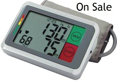 Automatic Upper Arm Blood Pressure Monitor With Touch Button & Talking function