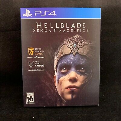 Hellblade: Senua's Sacrifice with Sleeve Cover  (PS4) BRAND NEW