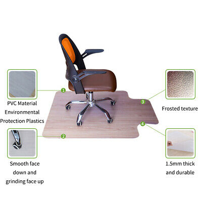 Chair Mat Home Office for Carpet Floor Protection Under Executive Computer Desk