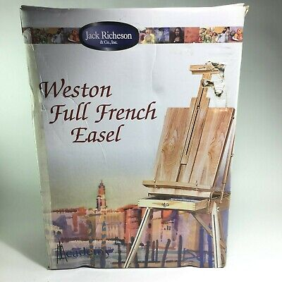 Artist Painting Easel Tripod - Weston Full French Easel - Jack Richeson & Co inc